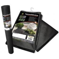 Agrowłóknina czarna 1,6x100mb gruba