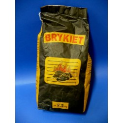 Węgiel - Brykiet 2,5kg